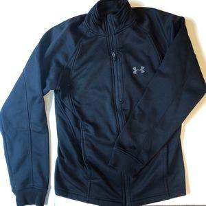 Under Armour Thick Black Sweatshirt Jacket